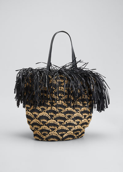 Amicus Small Crochet Tote  Bag