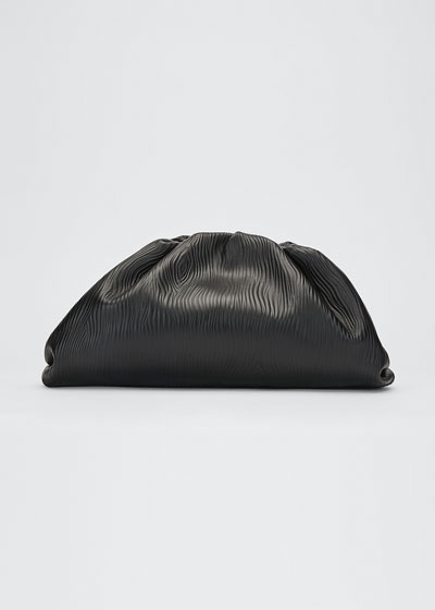 The Pouch Large Leather Clutch Bag