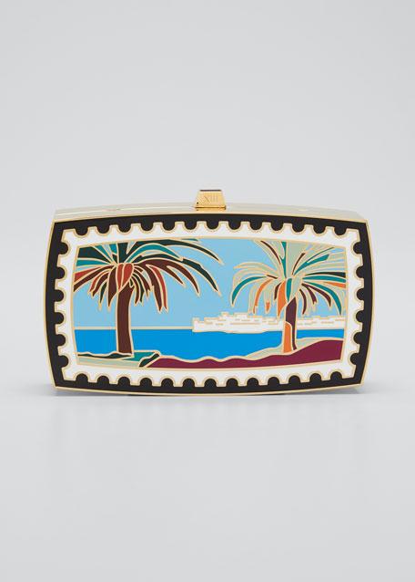 Mykonos Beach Minaudiere Clutch Bag