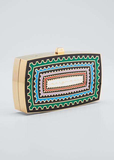 Sounio Seaside Minaudiere Clutch Bag