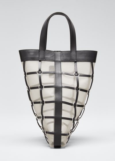 Billie Mini Twisted Cage Tote Bag
