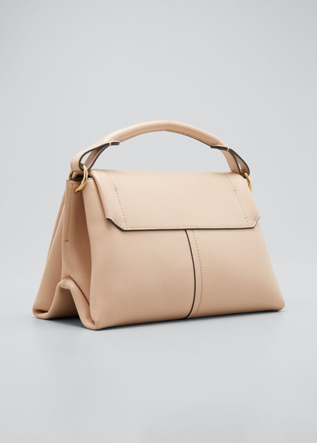Rope Bow Bag in Soft Leather