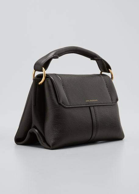 Rope Bow Bag Mini in Soft Leather