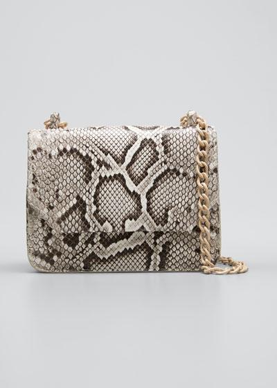 Square Small Crocodile Chain Shoulder Bag