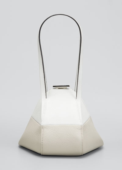 Giza Bicolor Top Handle Bag