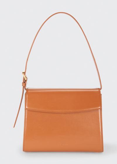 Ghost Flap-Top Shoulder Bag