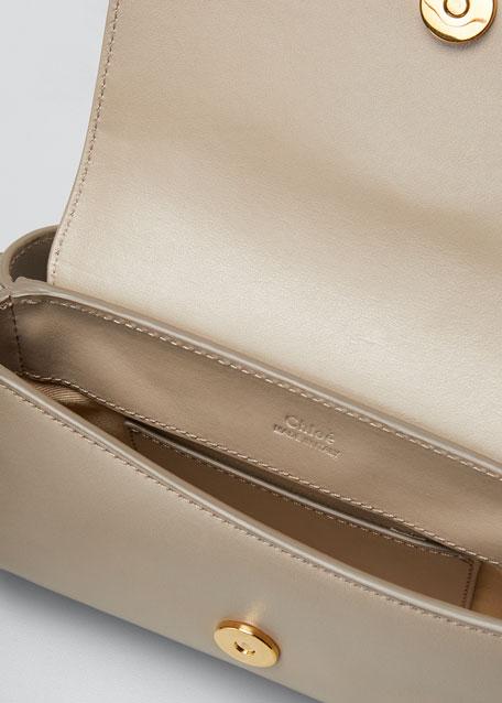 C Leather Belt Bag