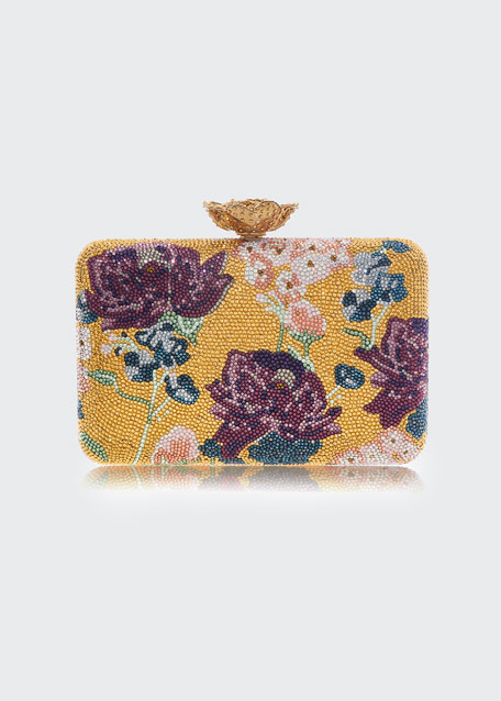 Image 1 of 1: Seamless Bouquet Clutch Bag
