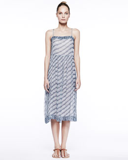 Isabel Marant Etoile Zaffer Cross-Back Midi Dress