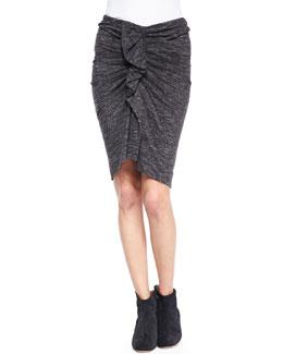 Isabel Marant Etoile Mills Melange Ruffle Skirt