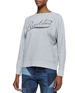 Isabel Marant Etoile Gen Revolution Raglan Sweatshirt
