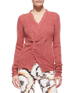Isabel Marant Etoile Reone Pinch-Front Sweater