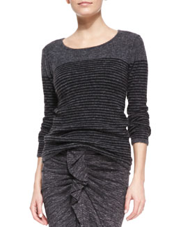 Isabel Marant Etoile Wallis Striped Pullover Sweater