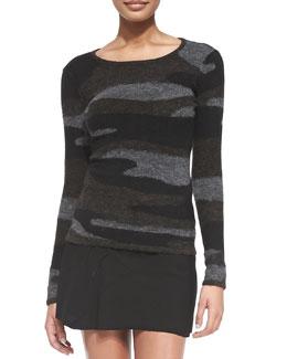 Isabel Marant Etoile Vetra Camo Knit Sweater