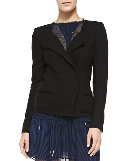 Isabel Marant Etoile Julia Wool-Blend Jacket