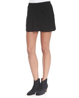 Isabel Marant Etoile Anais Seam-Detail Miniskirt