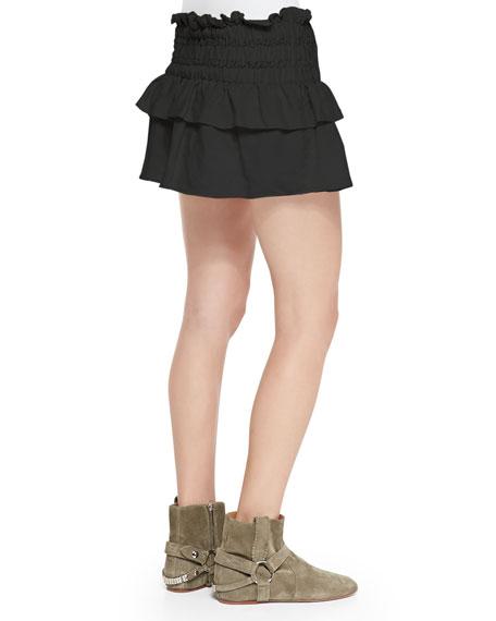isabel marant ruffle skirt