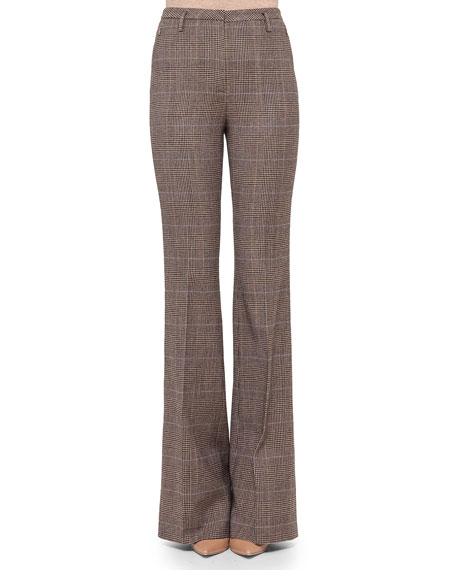 Farrah Glen Plaid Flare Pants