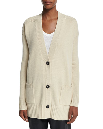 Marius Long-Sleeve Knit Cardigan