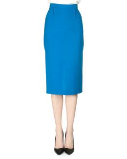 Arreton Double Crepe Pencil Skirt