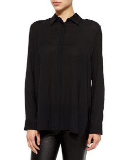 Carlton Long-Sleeve Placket Shirt