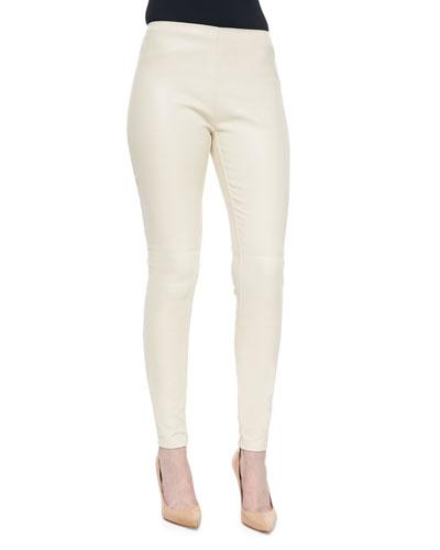 Eleanora Stretch Leather Pants
