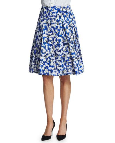 Gaspar-Print A-Line Party Skirt