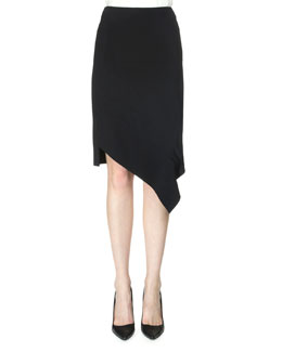 Tafan Asymmetric Pencil Skirt