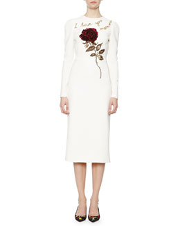 I Love You Mamma Rose Sheath Dress