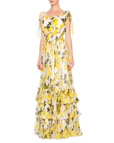 Dolce and gabbana maxi dresses