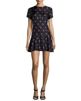 Pippa My Cherie Noir Silk Dress