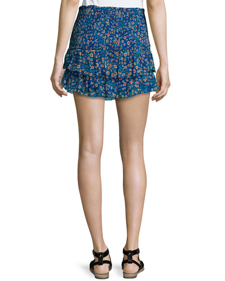 Isabel Marant Silk Mini Skirt Low Shipping Fee hBLAgc