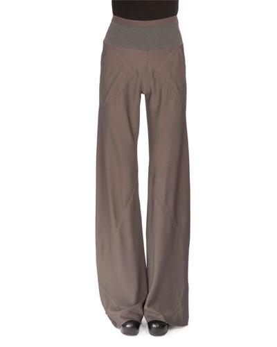 Classic Bias Pants, Dark Dust