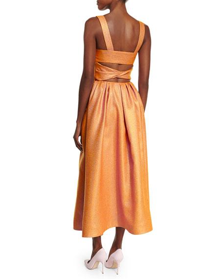 1b24d013738 Rosie Assoulin Morning After Cutout Midi Dress