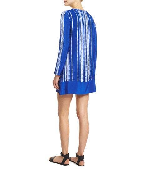 Lace dress description zeus