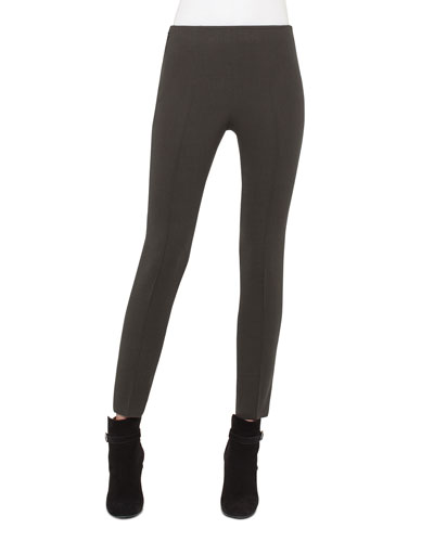 Melissa Techno Slim-Leg Pants,Turtle