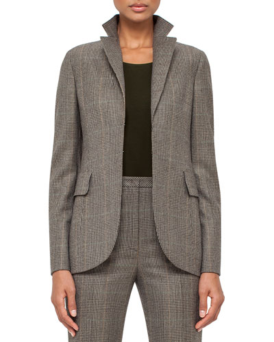 Felia Glen Plaid Jacket, Turtle