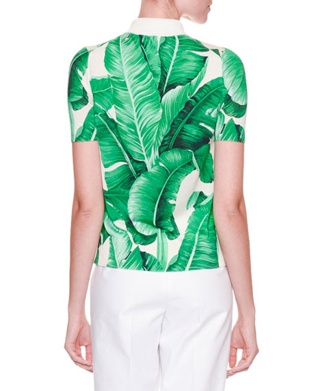 LEAF POLO SHIRT