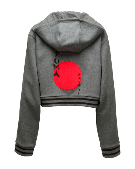 Lace-Up Hoodie Sweatshirt, Charcoal Heather