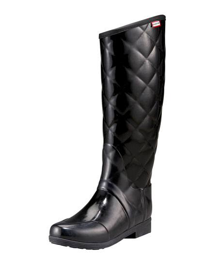Hunter Boot SANDHURST SAVOY QUILT RIDING