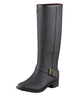 Hunter Boot Belsize Mercer Riding Boot, Black