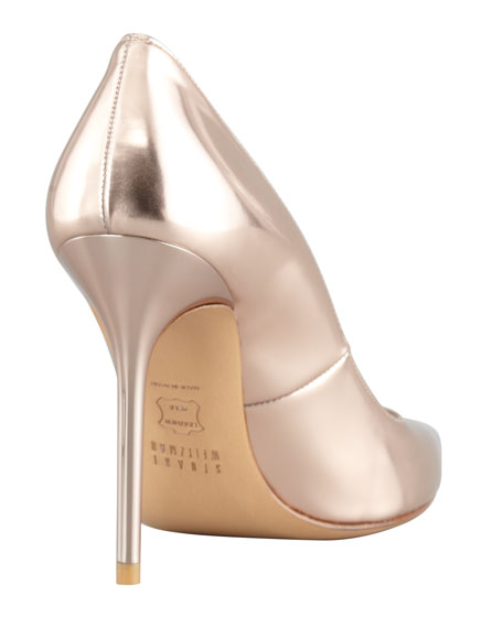 Nouveau Specchio Pointy-Toe Pump, Rose