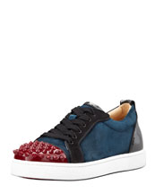 Christian Louboutin Louis Junior Spikes Low-Top Sneaker