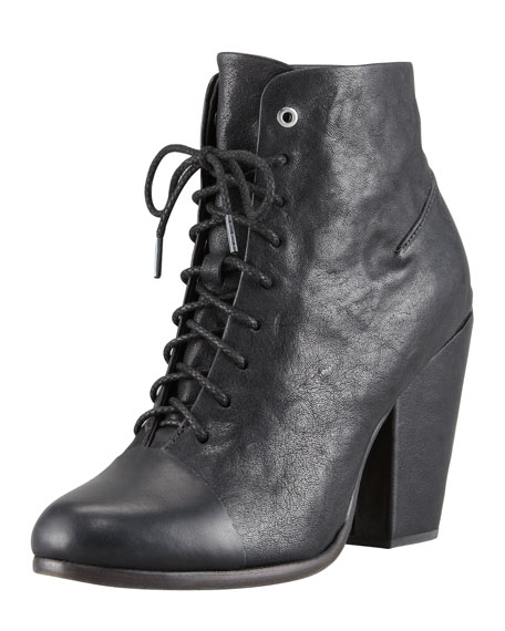 Miles Lace-Up Ankle Boot