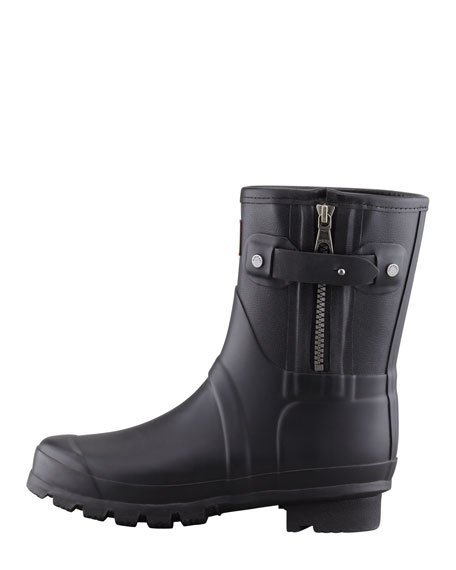 Rag & Bone Short Zip Boot, Black