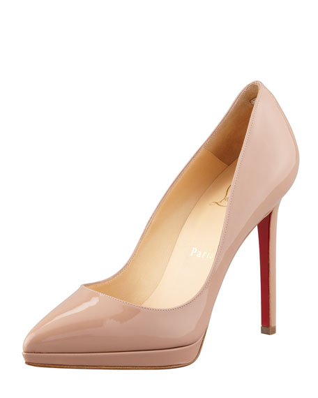 louboutin pigalle plato 100mm