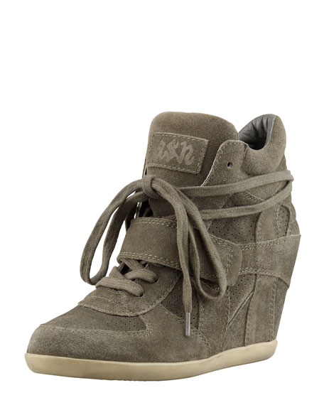 5663fd540cad Ash Bowie Suede Wedge Sneaker