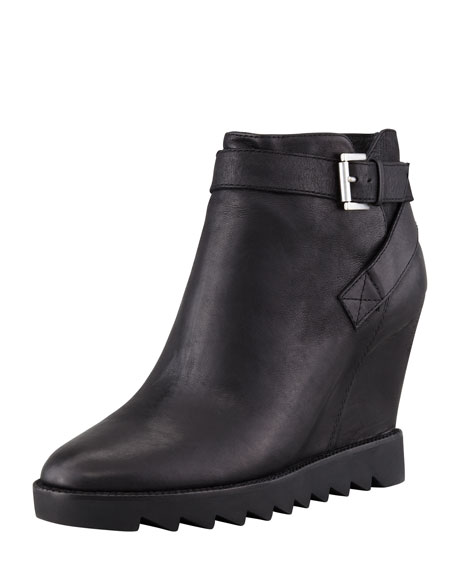 Iona Wedge Bootie, Black