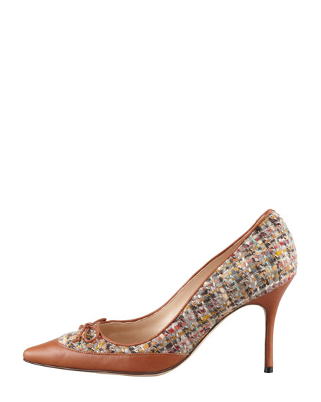 Fabuliso Tweed Bow Pump, Multi