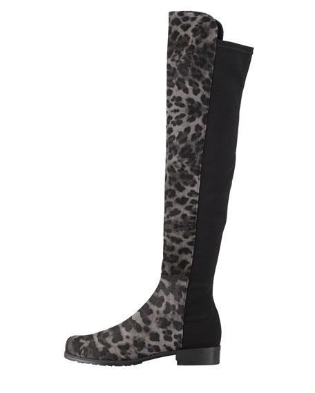 Stuart Weitzman 50/50 Leopard-Print